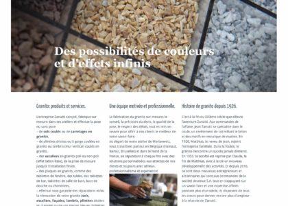 Zanutti spécialiste granito pour sols escaliers réparations